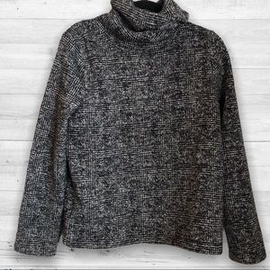 J. Crew Factory Long-sleeve Funnel Neck Pullover